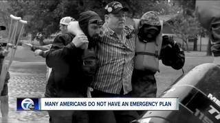 Most Americans don't have emergency plan