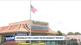 NYSDOT reviews proposed roundabout project