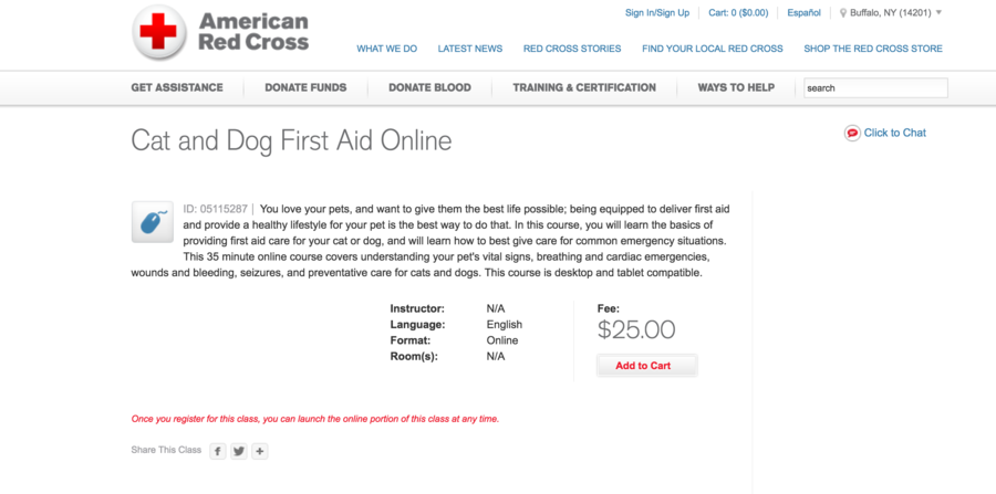 American Red Cross Launches Online First Aid Training Course For