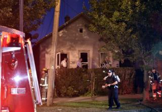 Fatal Niagara Falls arson started at 3 spots