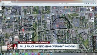 Falls police investigate overnight shooting