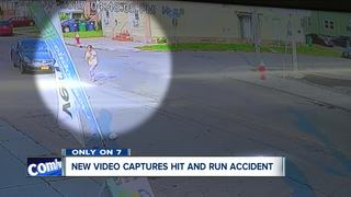 Only on 7: Hit and run in Buffalo caught on cam