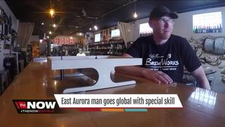 East Aurora man goes global with special skill