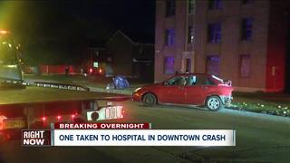 Sleeping driver said to be cause of overnight cr