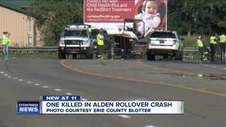 53-year-old man killed in Alden crash