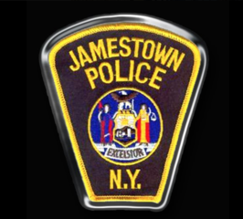 Flooding at Jamestown Police Department