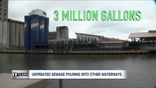 I-Team: Sewage is dumped into other WNY waters