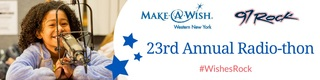 97 Rock hosts 23rd radiothon for Make-a-Wish