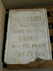 Which cemetery is missing this gravestone?
