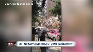 WNYer in Mexico City survives earthquake