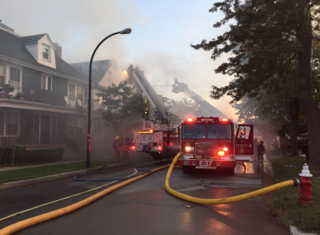 Seven people injured in early morning fire
