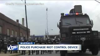 Buffalo Police purchase riot control device