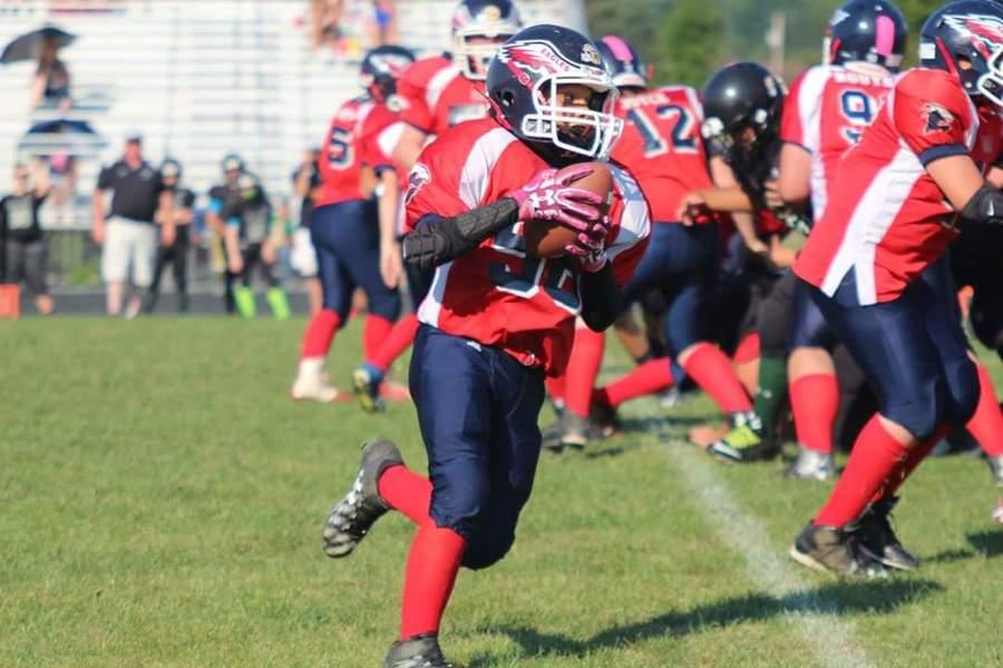 midget football player in icu with brain bleed