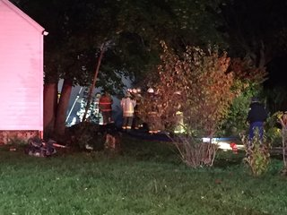 Cheektowaga home collapses in two-alarm fire