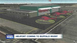Plans in place for a heliport near Buffalo River