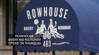 Rowhouse Bakery and Restaurant to open Thursday