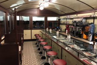 Classic diner gets permanent Larkinville home