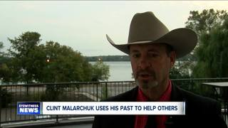 Clint Malachuk uses own mental illness to help