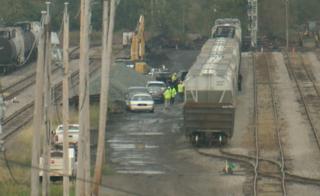 Body found in boxcar on Tifft Street