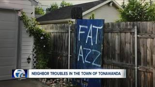 Neighborhood spat boils over