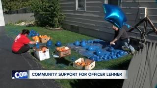 Blue pumpkins in demand after officer's death