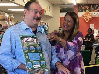 Buffalo man wins $1 mil. from scratch-off ticket
