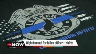 Officer Lehner T-shirts in high demand