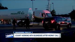 Niagara County helps after hazmat situation