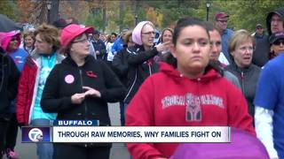 Through raw memories, WNY families fight on