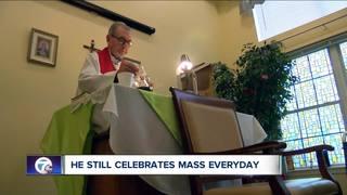 OP priest still celebrates mass everyday at 99