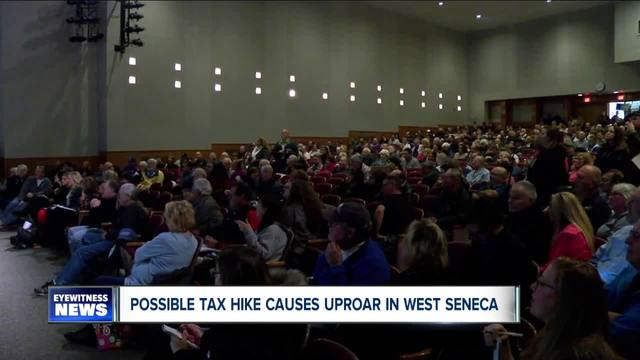 west seneca taxpayers in an uproar over budget
