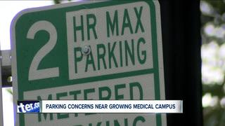 Parking concerns near Buffalo medical campus
