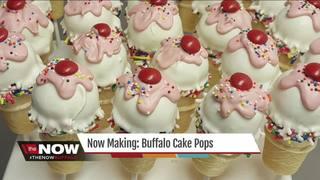 Now Making: Buffalo Cake Pops