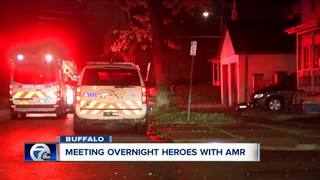 Overnight heroes: AMR saves lives across WNY