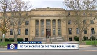 Business owners upset over significant tax hike