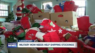 Military mom needs help sending stockings