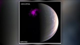 NASA spots auroras on Jupiter's poles