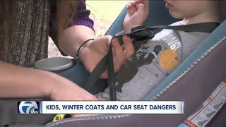 Kids, winter coats and car seat dangers