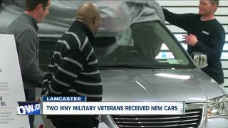 Two WNY military veterans get new wheels