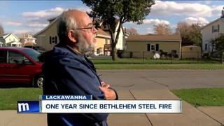Neighbors look back on massive Lackawanna fire