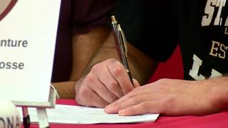 Eleven Lancaster athletes sign scholarships