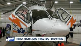 Mercy flight getting 3 new helicopters.