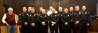 North Tonawanda Police honors its military vets