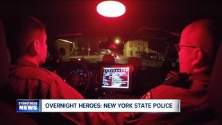 Overnight Heroes: New York State Police Troopers