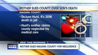 Mom suing Niagara Co. over death of jailed son