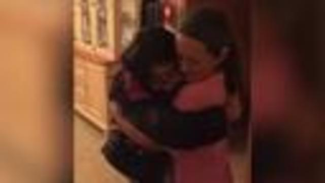 Friends with rare disease meet for the first time