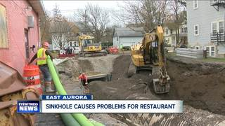 Insurance won't pay restaurant for sinkhole