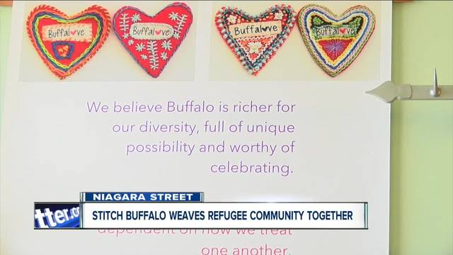 Stitch Buffalo weaves together refugee community