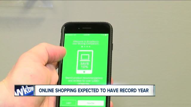 Online shopping expected to have record year