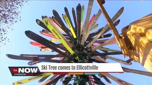 Ski Tree comes to Ellicottville for the holiday season